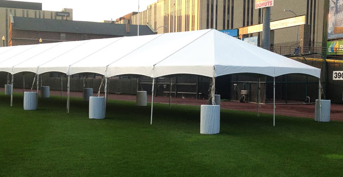 20 x 60 White Free-Standing Tent & 20 x 60 White Free-Standing Tent for Rent | Nolanu0027s Rental
