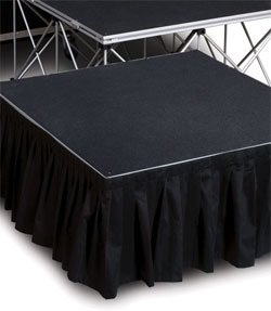 8' x 16 in or 24 in Stage Skirt