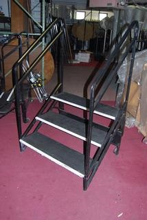 3-Step Stair with Handrail