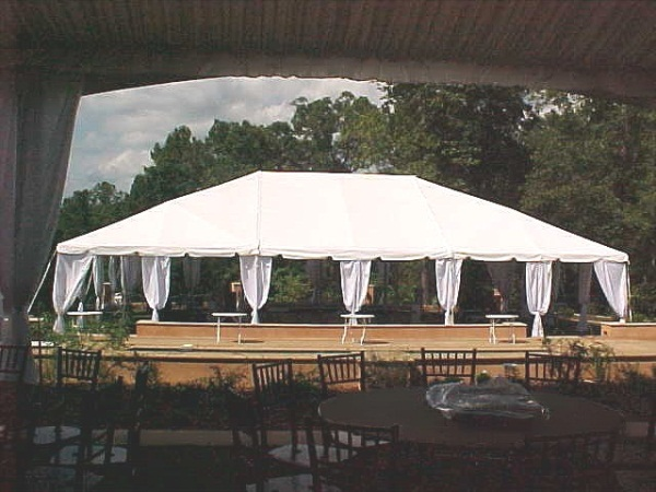 40u0027 x 60u0027 White Free-Standing Tent & Free-Standing Tents Rental | Nolanu0027s Tent and Party Rental ...