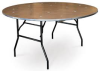 60 in.  Round Table (Seats 8)