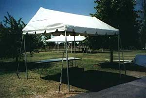 9 x 10 White Free-Standing Marquee Walkway & Free-Standing Tents Rental | Nolanu0027s Tent and Party Rental ...