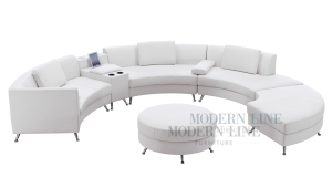 White Leather Lounge Furniture For Rent Nolan S Rental