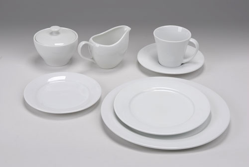 Churchill White China