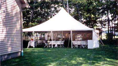 Stake and Pole Tents Rental   Nolan's Tent and Party Rental