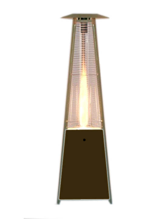 Patio Heater with Glass Center Piece