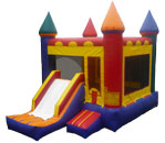 Castle Bouncer with Slide (13'x13')