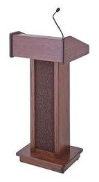 Cherry Floor Lectern/Podium with Sound System