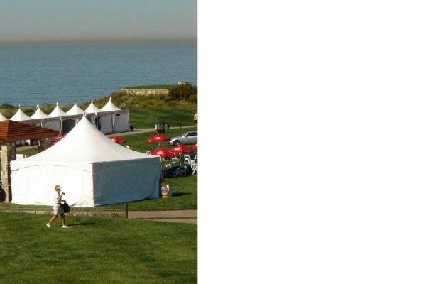 30x30 High Peak Free-Standing Tent Rental