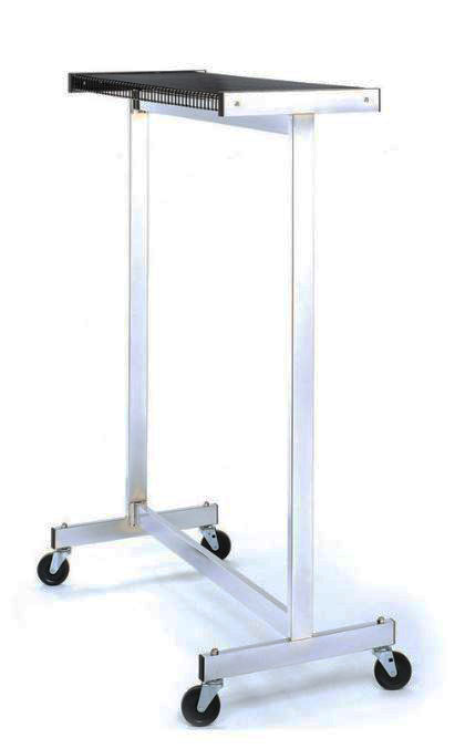 Chrome Coat Rack on Castors Rentals