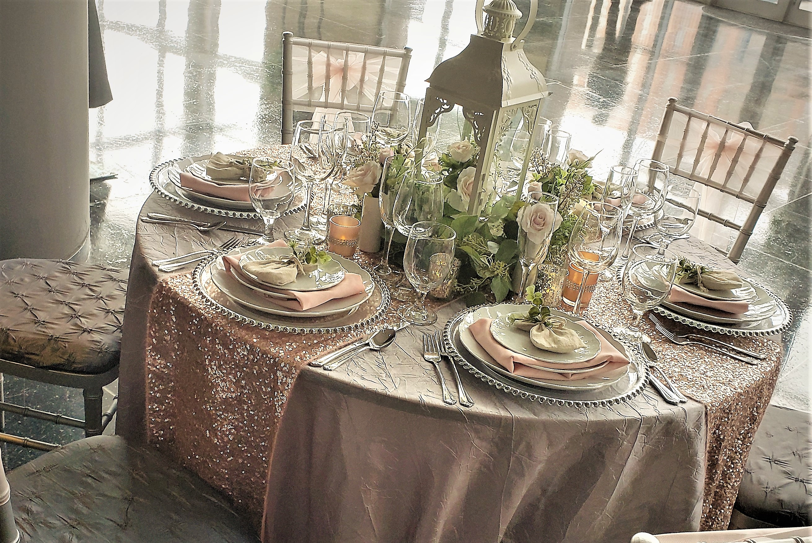 Custom Table Scapes Wedding Rental