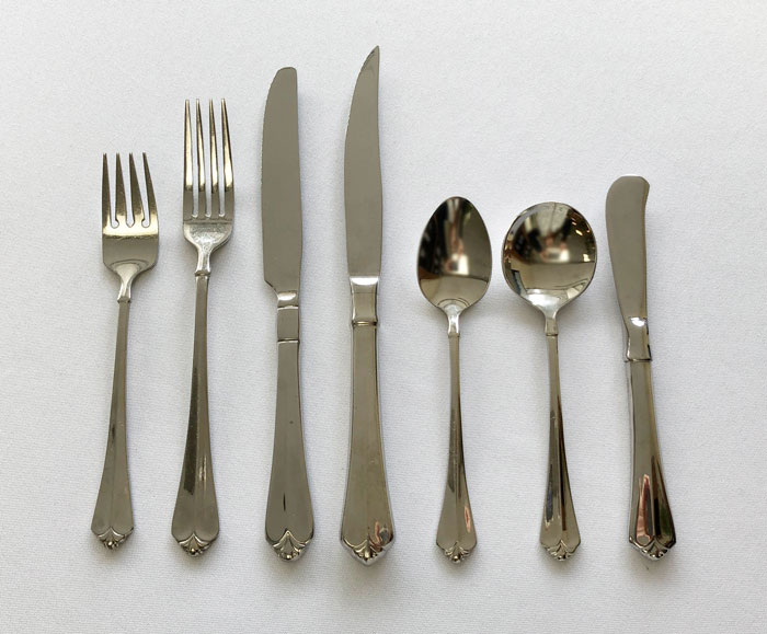 Julliard Stainless Flatware Rentals
