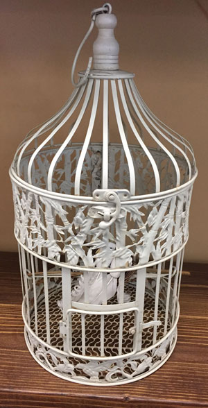 Large Round Bird Cage Wedding Rental