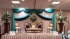 Custom Backdrops and Ceiling Draping Wedding Rental