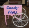 Cotton Candy Display Cart Rentals
