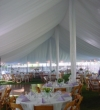 Fabric Tent Liner Wedding Rental