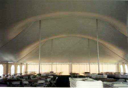 Rent 60 x 100 White Stake and Pole Tent