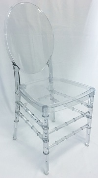 Clear Ghost Chair Wedding Rental