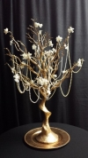 30 in Tall Gold Tree Wedding Rental