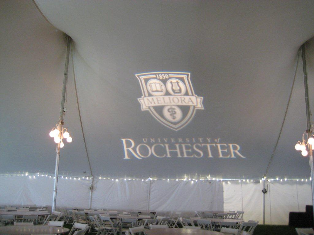 Custom Tent Lighting Wedding Rental