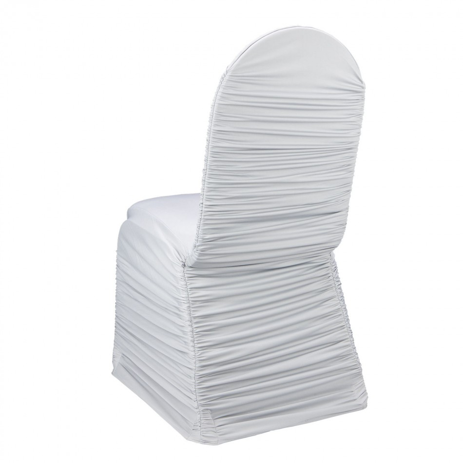 Ruched Spandex Chair Cover Rentals
