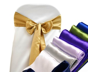 Sashes - Satin, Organza and Krinkle Wedding Rental