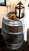 Wine Barrel Wedding Rental