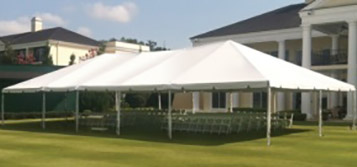 Free-Standing Frame Tents Rental
